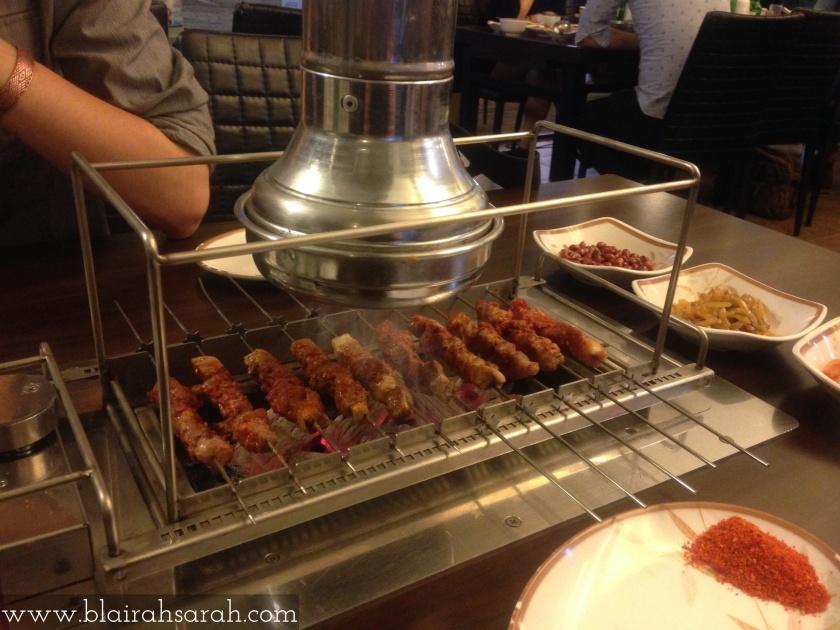 Chinese Lamb Kebabs Korea
