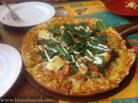 Hash Brown Pizza Korea