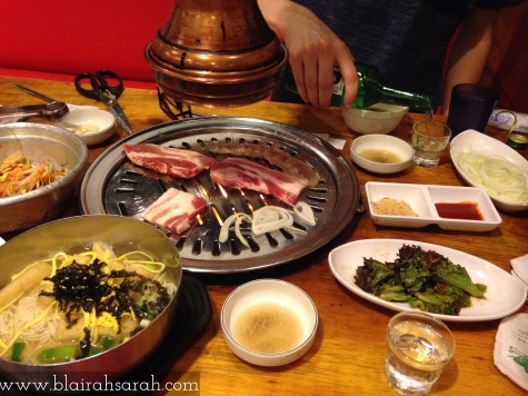 Korean BBQ in Seoul