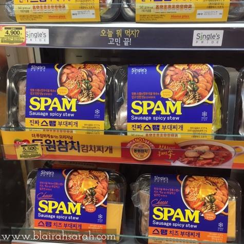Spicy SPAM Sausage Stew
