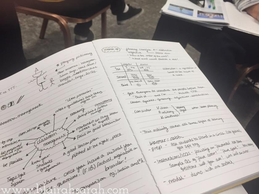 TEFL Course Notes